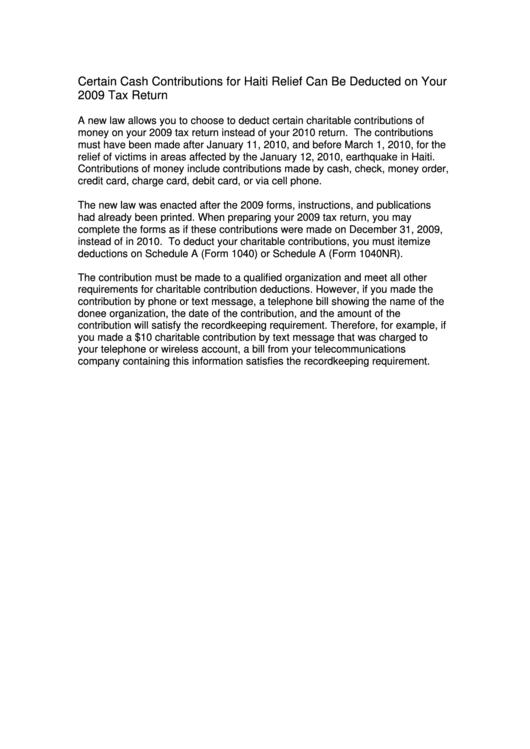 Fillable Form 1040 - U.s. Individual Income Tax Return - 2009 Printable pdf