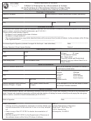Form St-137rv - Affi Davit Of Exemption By A Nonresident Of Indiana On The Purchase Of A Recreational Vehicle Or Cargo Trailer