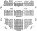 Seating Chart - Shubert