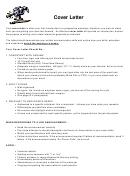 Sample Cover Letter Outline