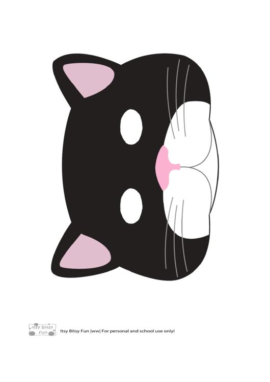 Cat Mask Template Printable Pdf Download