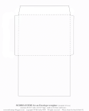 Envelope Template (standard A2 Size)