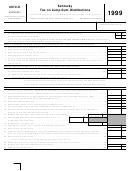 Oppenheimer single k distribution form