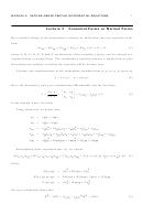 Canonical Forms Or Normal Forms Math Worksheet