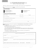 Request For Administration Of Medication - Ohio Department Of Job And Family Services