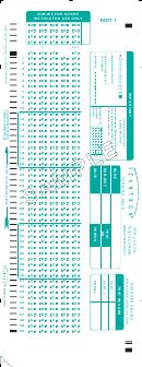 Sample Scantron Form 882-e