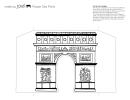 Foldable Paris Arch De Triumph Paper Template