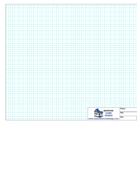 A3 Graph Paper (Blue On White) Printable pdf