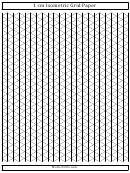 1 Cm Isometric Grid Paper