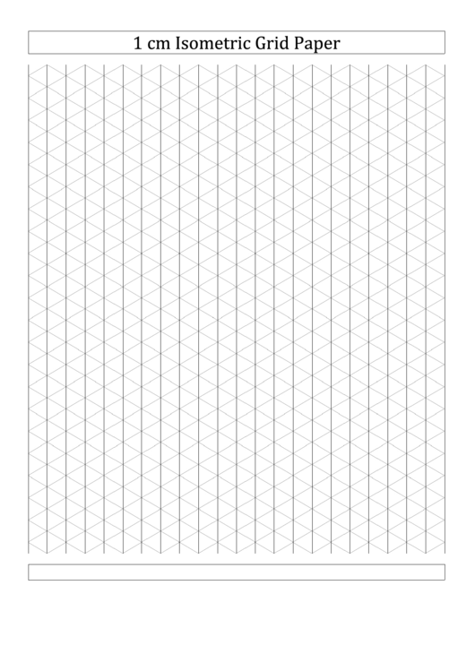 1 cm isometric grid paper printable pdf download