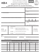 Form 4506-a - Request For Copy Of Tax Form Or Individual Income Tax Account Information