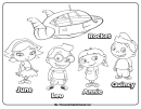 Disney Coloring Sheet