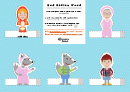 Red Riding Hood Paper Template