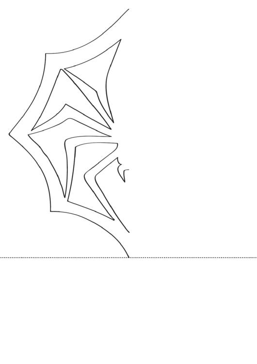 snowflake spider template printable pdf download