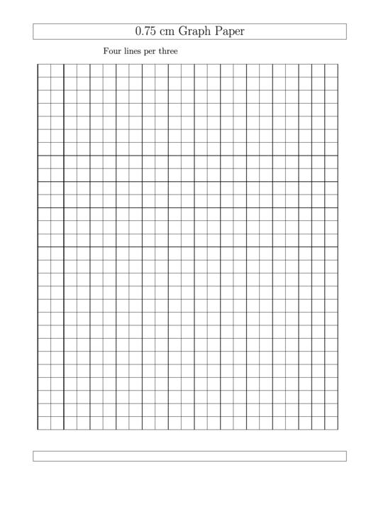 0 75 cm graph paper printable pdf download