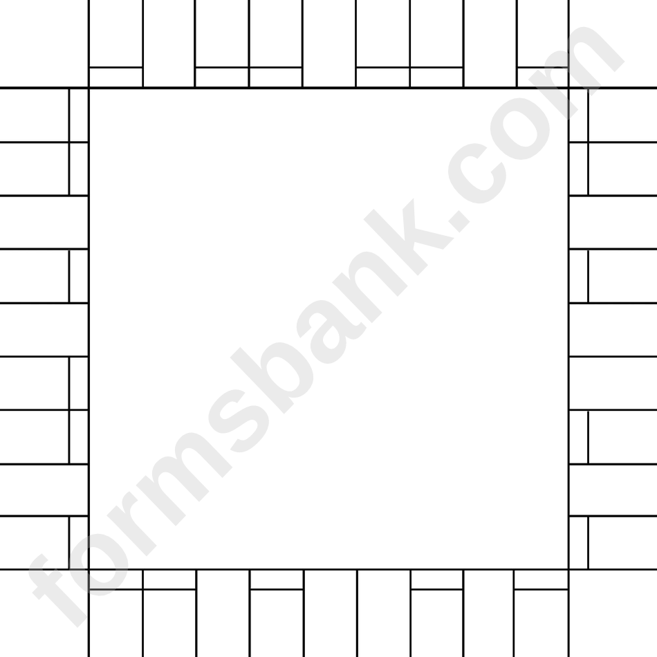 Board Game Layout Template Printable Pdf Download