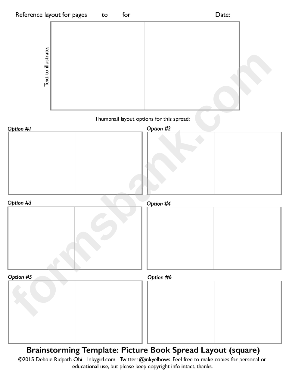 Book Reference Layout Template