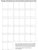 40 Page Self-ended Picture Book Thumbnail Template