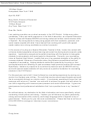 Sample Admissions Counselor Cover Letter