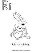 R Is For Rabbits