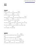 40 (e) Chord Chart