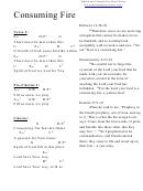 Consuming Fire (g) Chord Chart