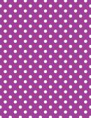 Purple Polka Dot Pattern Paper