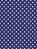 Dark Blue Polka Dot Pattern Paper