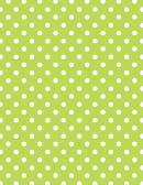 Light Green Polka Dot Pattern Paper