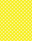 Yellow Polka Dot Pattern Paper