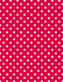 Red Polka Dot Pattern Paper