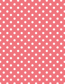 Light Red Polka Dot Pattern Paper