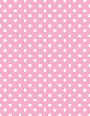 Light Pink Polka Dot Pattern Paper
