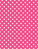 Pink Polka Dot Pattern Paper
