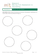 Handout: Blank Circle Chart