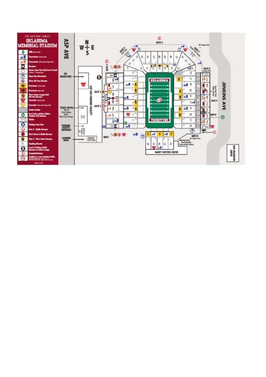Oklahoma Memorial Stadium - Sooner Sports