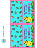 Easter Bag Tag Template