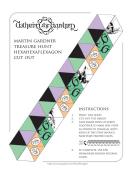Martin Gardner Treasure Hunt Hexahexaflexagon Template With Instructions