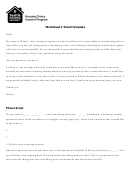Rental Inquiry Email Template