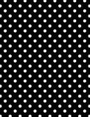 Black Polka Dot Pattern Paper