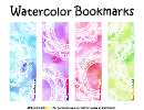 Watercolor Bookmark Template