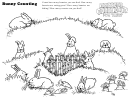 Bunny Counting Activity Sheet