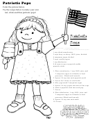 Patriotic Pops Kids Activity Sheet