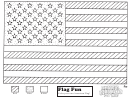 Flag Fun Kids Activity Sheet