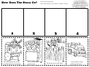 How Does The Story Go Kids Activity Sheet