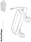 My Red Wagon Kids Activity Sheet