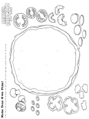 Make Your Own Pizza Kids Activity Sheet