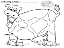 A-mazing Animal Kids Activity Sheet