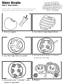 Winter Wreaths Kids Activity Sheet