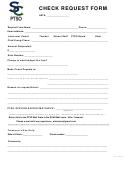 Check Request Form - South County Ptso